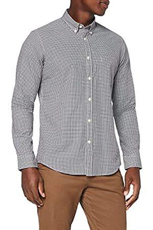 MERAKI Uomo Casual - Marchio Amazon - Camicia Regular Fit in Cotone a Maniche Lunghe Uomo, , XL, Label: XL