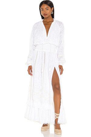 HEMANT AND NANDITA X REVOLVE Mavi Maxi Dress in - . Size L (also in XS, S, M).