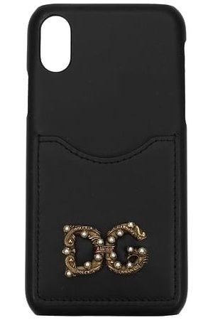 Dolce & Gabbana Donna Cellulare - Porta iPhone iphone x Donna Pelle