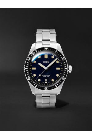 Oris Divers Sixty-Five Automatic 40mm Stainless Steel Watch, Ref. No. 01 733 7707 4055-07 8 20 18