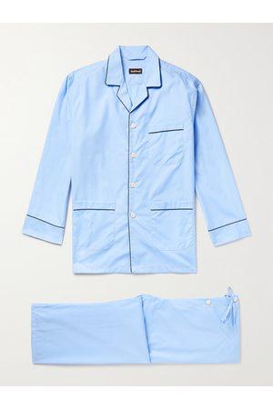 Paul Stuart Cotton-Poplin Pyjama Set