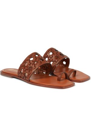 Tory Burch Sandali infradito Caning in pelle