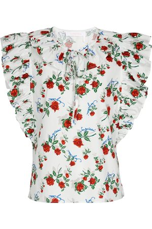 See by Chloé Blusa a stampa floreale in cotone