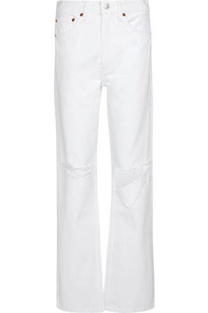 RE/DONE Jeans regular Loose a vita alta