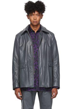 DRIES VAN NOTEN Uomo Giacche di pelle - Faux-Leather Jacket