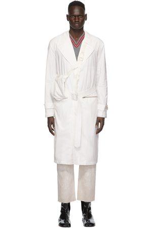 Maison Margiela Uomo Impermeabili - Off-White Recycled Packable Trench Coat