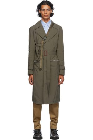 Maison Margiela Uomo Impermeabili - Green Recycled Packable Trench Coat