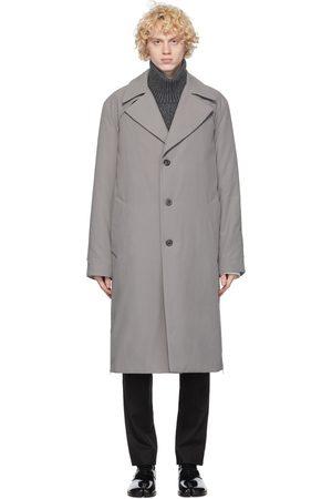 Maison Margiela Uomo Impermeabili - Grey Classic Trench Coat