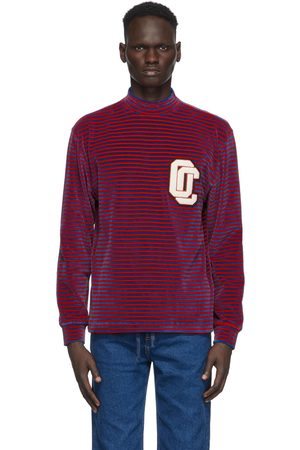 Opening Ceremony Red & Blue Striped Turtleneck