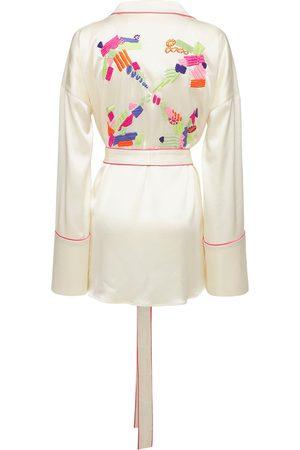 OFF-WHITE Camicia Lvr Exclusive Con Ricami