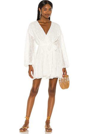Minkpink Jessika Drop Waist Mini Dress in - . Size L (also in S, XS, M).