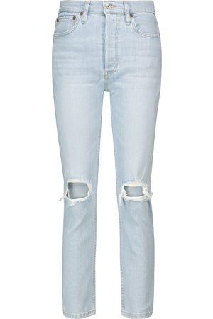 Re/Done Donna Jeans a vita alta - Jeans cropped anni '90 a vita alta