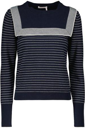 See by Chloé Donna T-shirt - Pullover in maglia di cotone
