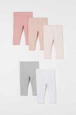 H&M Bambina Leggings & Treggings - Leggings in jersey, 5 pz