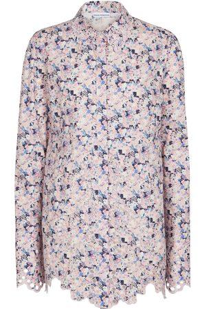 Paco rabanne Camicia in cotone con stampa floreale