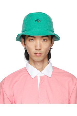 Noah NYC Uomo Cappelli - Green Crusher Bucket Hat