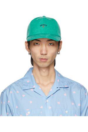 Noah NYC Uomo Cappelli con visiera - Green Core Logo Six-Panel Cap