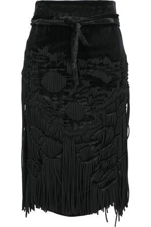 Saint Laurent Donna Gonne midi - Abbigliamento