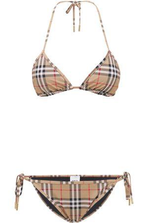 Burberry Donna Costumi interi - Set Bikini In Lycra Stretch