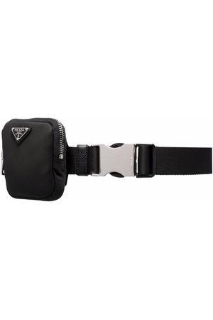 Prada Cintura con logo