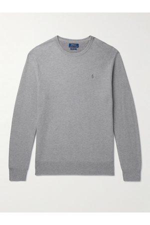 Polo Ralph Lauren Uomo Maglioni - Honeycomb-Knit Pima Cotton Sweater