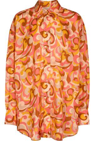 ZIMMERMANN Donna Camicie - Camicia in seta con stampa