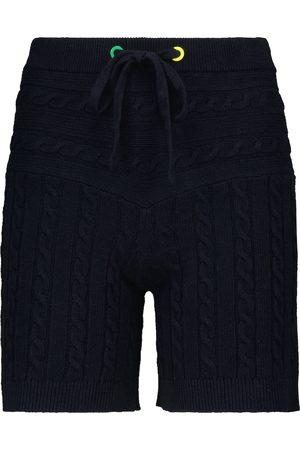 Staud Donna Pantaloncini - Shorts Arden in cotone e lino