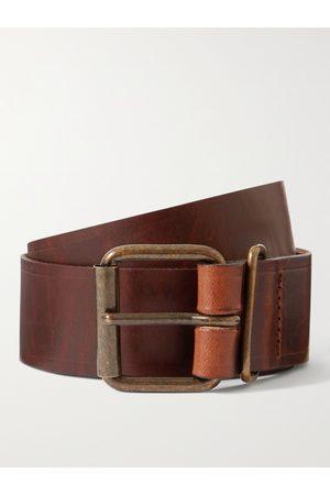 BLEU DE CHAUFFE Uomo Cinture - Fred 4cm Leather Belt