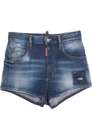 Dsquared2 Donna Pantaloncini - JEANS - Shorts jeans