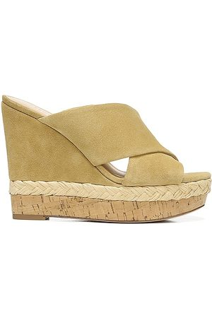 Veronica Beard Loro Wedge Sandal in - Beige. Size 10 (also in 6, 6.5, 7, 7.5, 8, 8.5, 9, 9.5).