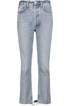 AGOLDE Jeans regular Riley a vita alta