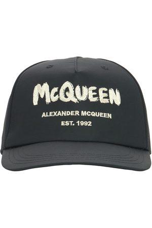 Alexander McQueen Uomo Cappelli con visiera - Cappello Baseball In Nylon Con Logo