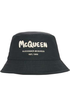 ALEXANDER MCQUEEN Cappello Bucket In Nylon Con Logo