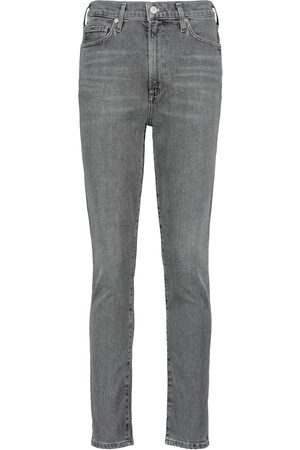 Citizens of Humanity Jeans slim cropped Olivia a vita alta