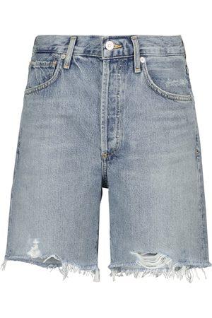 Citizens of Humanity Shorts di jeans Camilla a vita alta