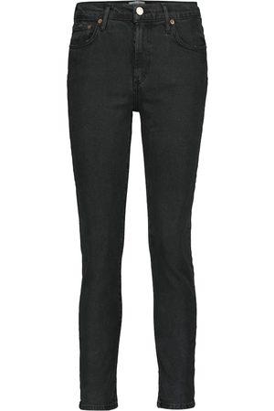 AGOLDE Jeans slim Toni a vita media