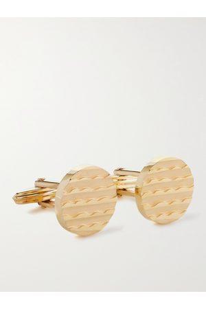 Lanvin Textured -Plated Cufflinks