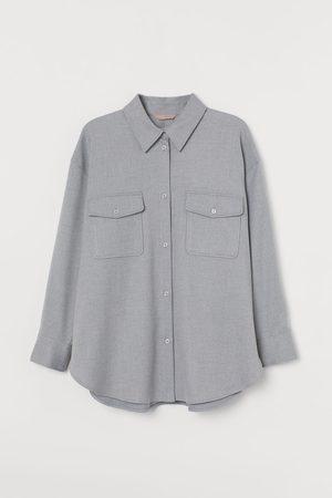 H&M Donna Camicie - + Camicia in flanella