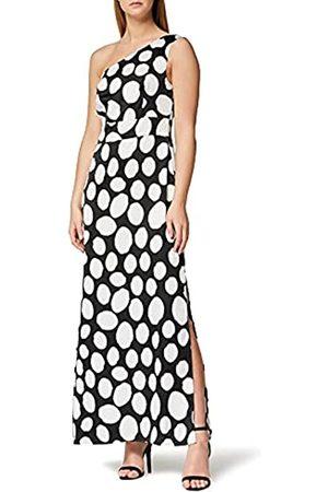 TRUTH & FABLE Marchio Amazon - Maxi Dress Senza Spalline Donna, , 42, Label: S