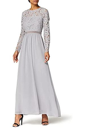 TRUTH & FABLE Marchio Amazon - Maxi Dress A-Line in Pizzo Donna, ., 40, Label: XS