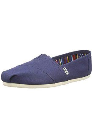 TOMS Classics 1001B07, Sneaker, Donna , Blu , 38