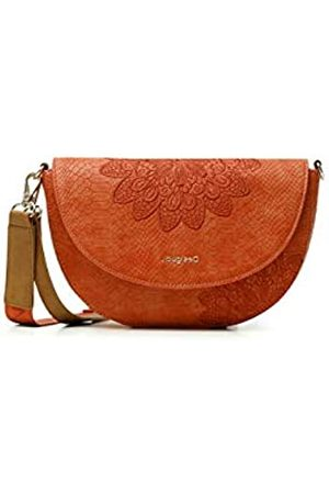 Desigual PU Across Body Bag, Donna, Colore: Arancione, U