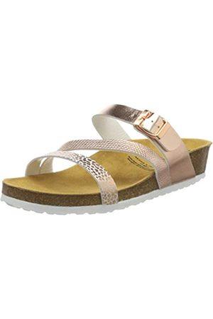 LICO Natural Glitter, Pantofole a Collo Basso Unisex-Adulto, Rosa , 40 EU