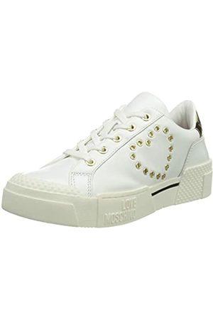 Love Moschino Sneakers New Tassel, Scarpe da Ginnastica Donna, , 39 EU
