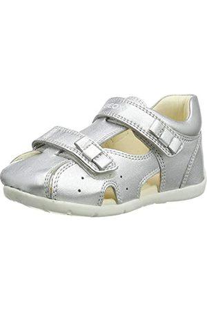 Geox B1551B0Y2NF Bimba 0-24, Silver, 26 EU