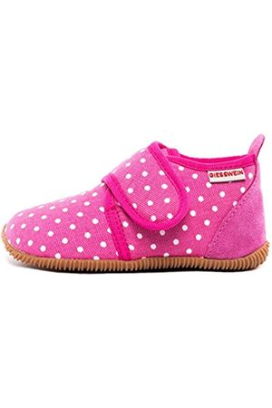 Giesswein Stans-Slim Fit, Pantofole a Collo Basso, Rosa , 23 EU
