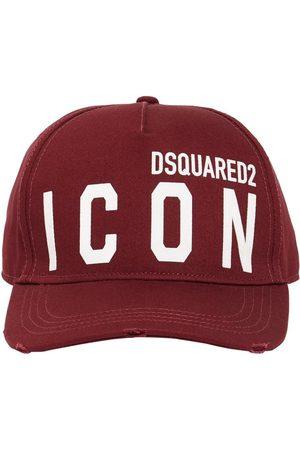 Dsquared2 Uomo Cappelli - Cappello In Gabardina Di Cotone
