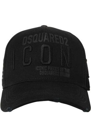"""Dsquared2 Uomo Cappelli con visiera - Cappello Baseball """"icon"""" In Gabardina"""