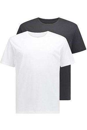 BOSS Uomo Magliette intime - Magliette intime in puro cotone in confezione da due