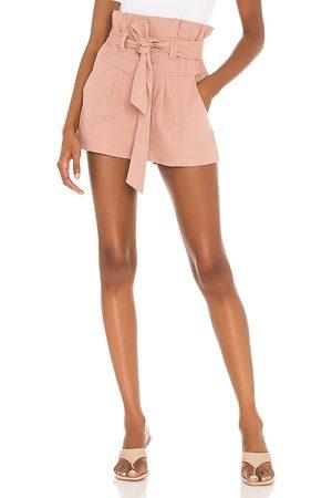 Tularosa Kylo Shorts in - Blush. Size L (also in XXS, XS, S, M, XL).
